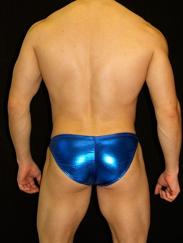 Arroyman Bulge Latex Buns Bulge Bikini