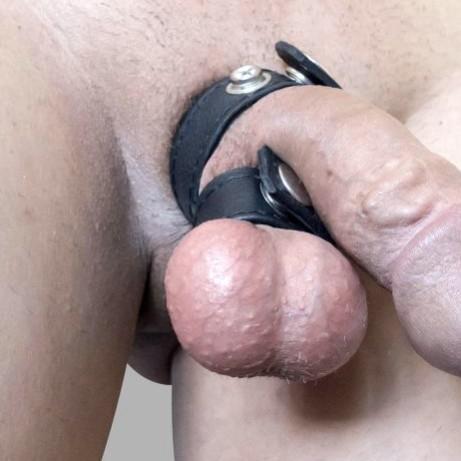www.mensfinest.de - Mr.B Leder Double Cockring